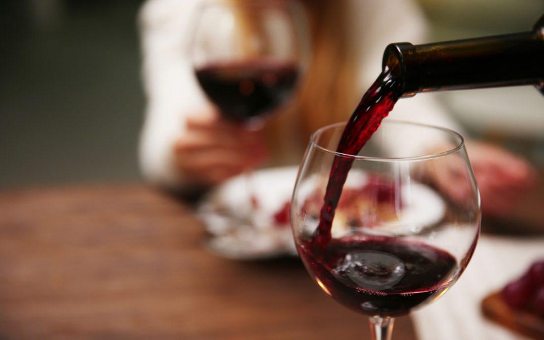 Wino z Sandrą